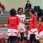 Munford BK Varsity Girls vs Saks 1/23/18