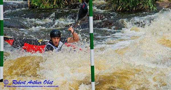 World Championships Bronze Medalist Kayak men Junior Jakub GRIGAR of Slovakia positioning for gate 10 during the finals of the 2012 ICF Canoe Slalom Junior and U23 World Championships (USA WI Wausau; Obst FAV Photos 2012 Sports Fun Extraordinaire Action Outdoors Canoe Kayak Nikon D800 IMAGE 3717.01)