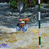World Championships GOLD Medalist Kayak men Junior Miroslav URBAN of Slovakia positioning for gate 10 during the finals of the 2012 ICF Canoe Slalom Junior and U23 World Championships (USA WI Wausau)