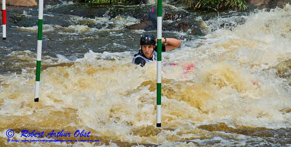 World Championships Bronze Medalist Kayak men Junior Jakub GRIGAR of Slovakia positioning for gate 10 during the finals of the 2012 ICF Canoe Slalom Junior and U23 World Championships (USA WI Wausau; RAO Image 3718)