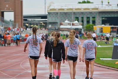 RHS Girls Track at State 2018