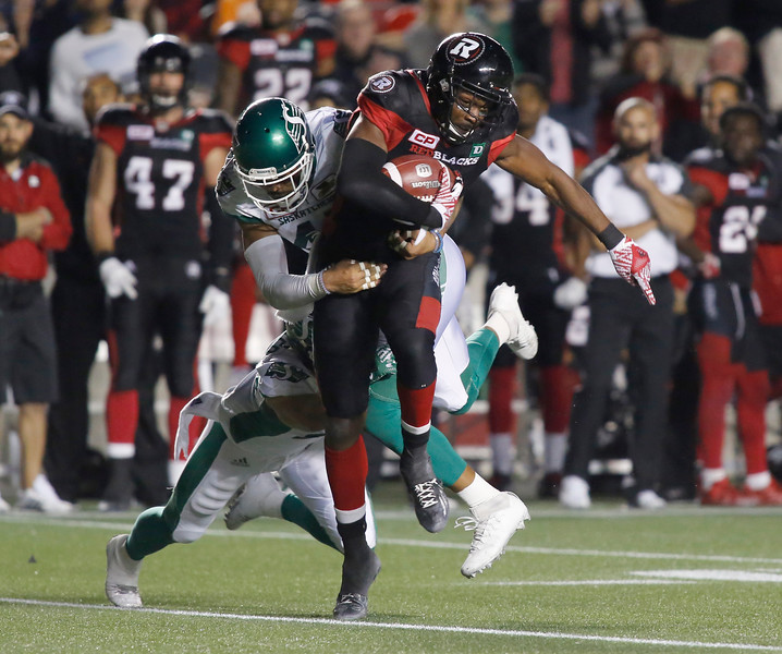 CFL OTTAWA REDBLACKS SASKATCHEWAN ROUGHRIDERS