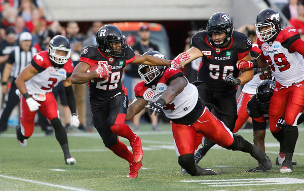 CFL REDBLACKS STAMPEDERS 20170623