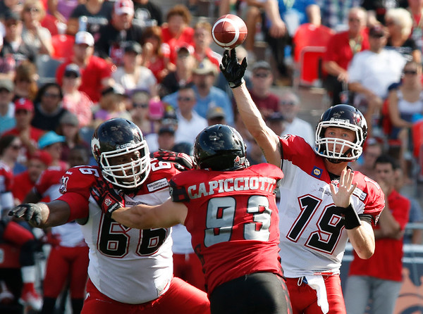 CFL Redblacks Stampeders