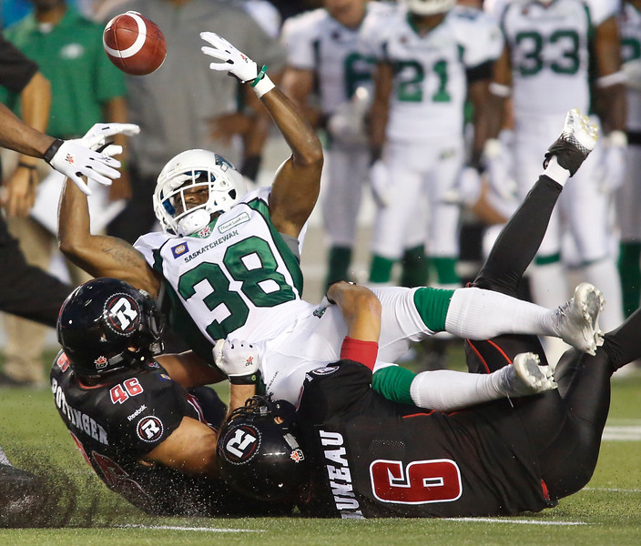 CFL Redblacks Roughriders