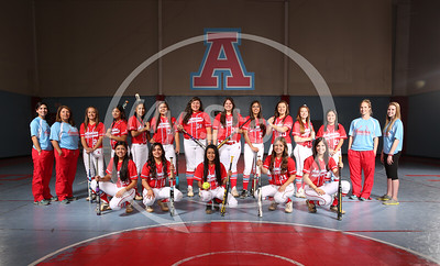 Apache Softball 2014 Portraits