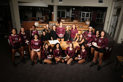 Highlands Volleyball Library (New Chapter) Photo Shoot 2016
