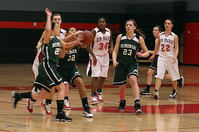 Madison Memorial - Jan 28, 2011 Girls Basketball