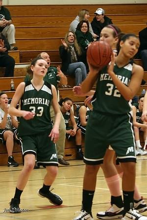 Madison Memorial Girls Basketball - February 5, 2011