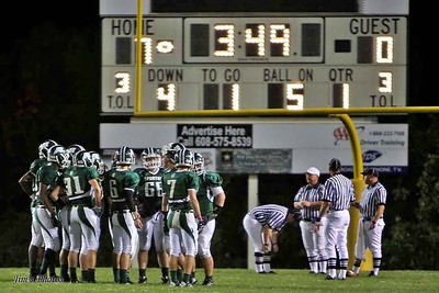 Madison Memorial Football - Oct 1, 2010