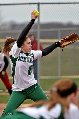 Madison Memorial Girls Softball April 25, 2011