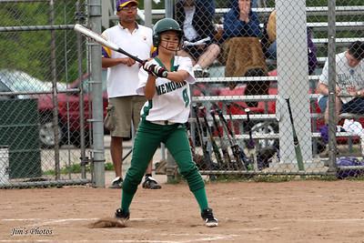Madison Memorial Girls Softball - May 21, 2011
