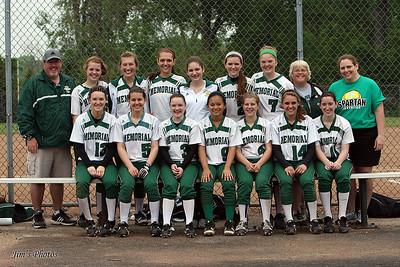 2011 Girls Softball