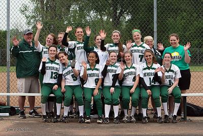 Madison Memorial Girls Softball - 2011 Team Photos