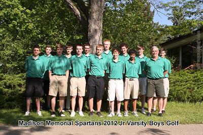 2012 Boys Golf