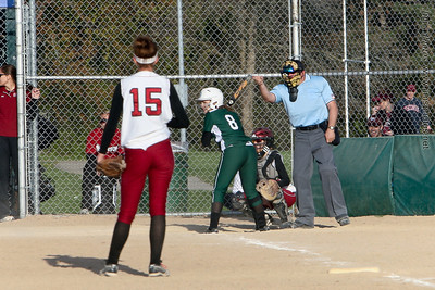 Madison Memorial Girls Softball - April 12, 2012