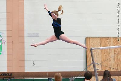 Madison West Gymnastics Meet - Jan 12, 2012