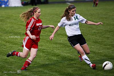 Madison Memorial Girls Soccer - April 30, 2012