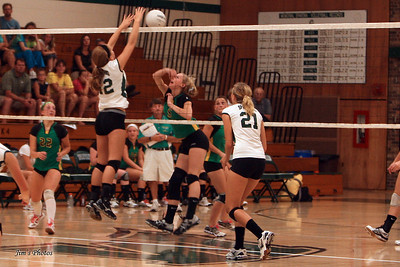 Madison Memorial Girls Volleyball - Sept 01, 2011