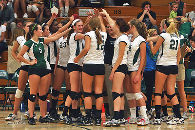 Madison Memorial Girls Volleyball - Sept 20, 2011