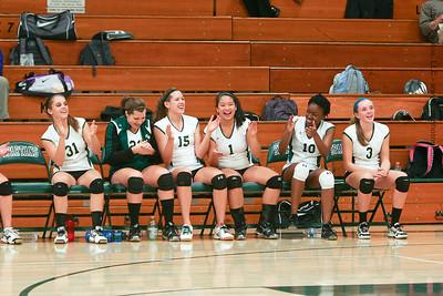 Madison Memorial Girls Volleyball - Test - Oct 3, 2011
