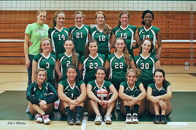 2011 Girls Volleyball