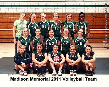 Madison Memorial Girls Vollyball - Team Photos