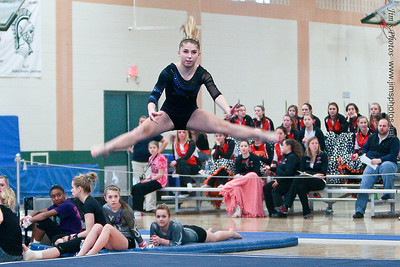 Madison Memorial Gymnastics - 2013 Spartans Invite
