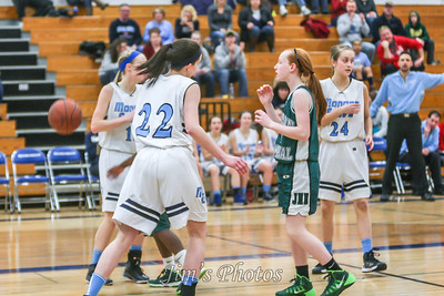 Madison Memorial Girls Basketball - Feb 22, 2014