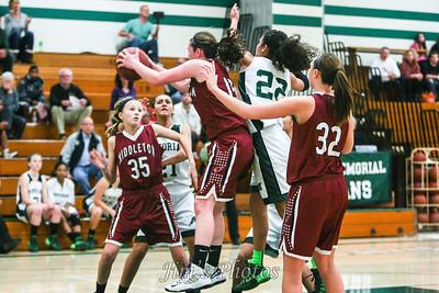 Madison Memorial Girls Basketball - Jan 16, 2014