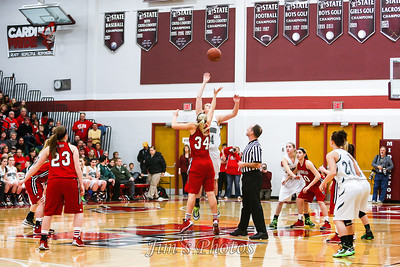 High School Girls Basketball - March 15, 2014