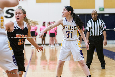HS Sports - DeForest Girls Basketball - Feb 13, 2015