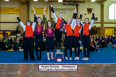 HS Sports - Purgolder Gymnastics Invite - Jan 14, 2017