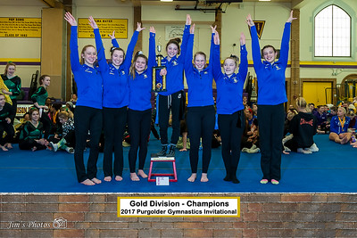 HS Sports - Purgolder Gymnastics Invite [d] Jan 14, 2017