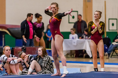 HS Sports - Spartan Gymnastics Invite - January 28, 2017