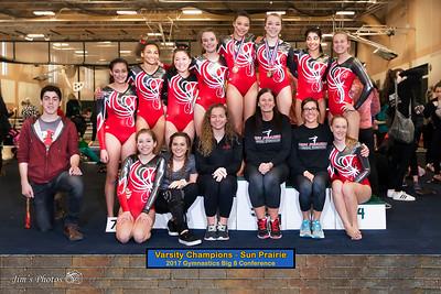 HS Sports - Big 8 Gymnastics Conference - February 18, 2017