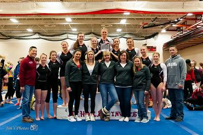 HS Sports - Mt Horeb Gymnastics - Jan 06, 2018