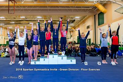 HS Sports - Spartan Gymnastics Invite [d] Jan 27, 2018