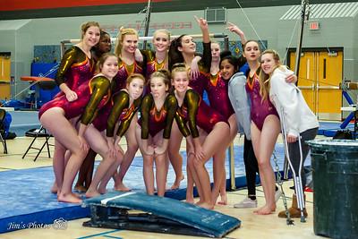 HS Sports - Verona/Mad Edgewood Gymnastics [d] Feb 08, 2018