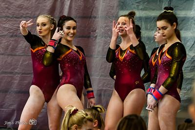 HS Sports - Verona/Mad Edgewood Gymnastics [d] Feb 17, 2018