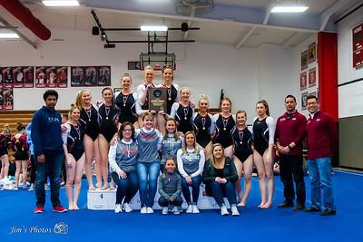 HS Sports - Div 2 Gymnastics Sectionals - Feb 22, 2018