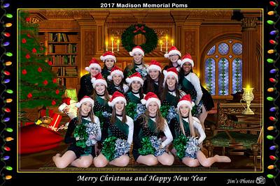 HS Sports - JMM Poms Holiday Show [d] Dec 12, 2017