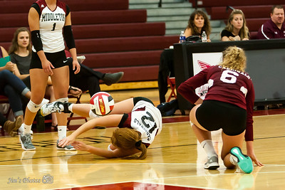 HS Sports - Middleton Girls Volleyball - Sept 12, 2017