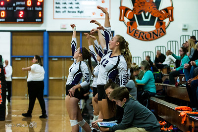 HS Sports - Stoughton Girls Volleyball - Oct 10, 2017