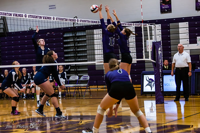 HS Sports - Stoughton Girls Volleyball - Oct 12, 2017