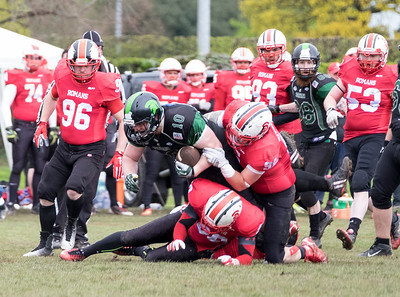 Chester Romans V Halton Spartans May 2016