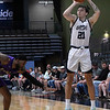 Enid Outlaws' Lindy Waters III shoots a three point shot against Waco Sunday, May 2, 2021 at the Stride Bank Center. (Billy Hefton / Enid News & Eagle)