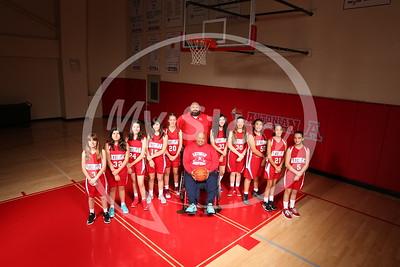 Antonian Middle Sch 2016 Girl Basketball