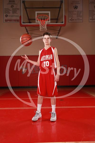 Antonian Middle School Boy Basketball 2015