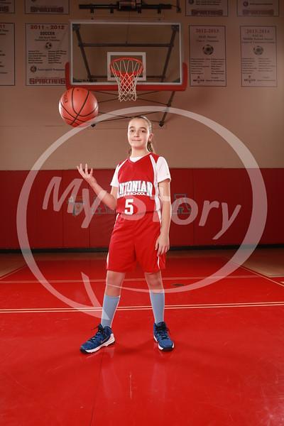 Antonian Middle School Girl Basketball 2015